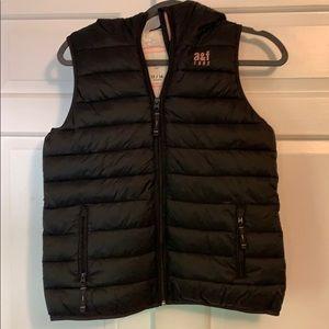 Abercrombie kids Sherpa lined vest